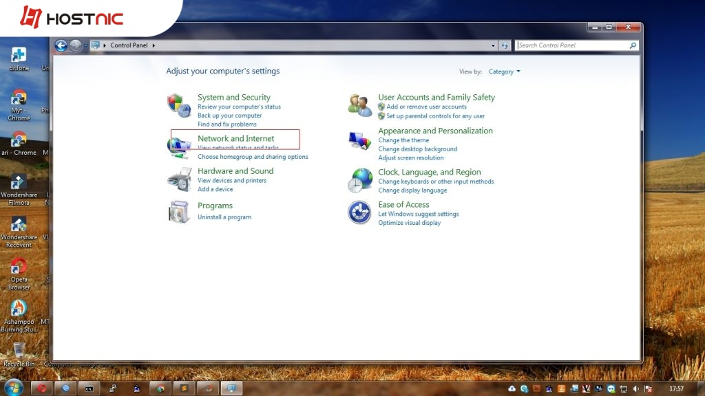 Cara Seting VPN PPTP di Windows 7