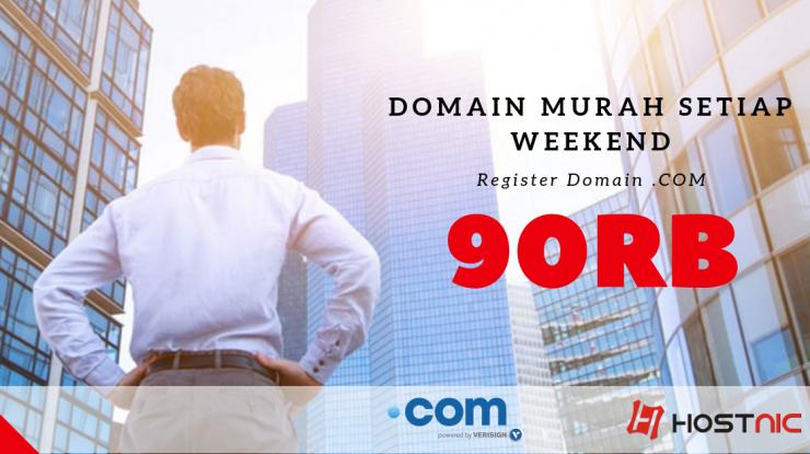 Domain .COM Cuma 90rb