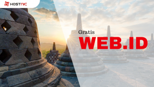 Order Hosting Apapun Gratis Domain WEB.ID