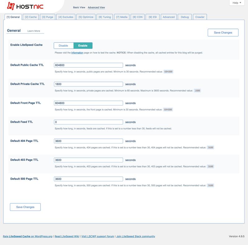 Cara Setting Plugin LiteSpeed Cache Pada WordPress