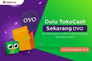 TokoCash Tokopedia Kini Di Ganti Jadi OVO