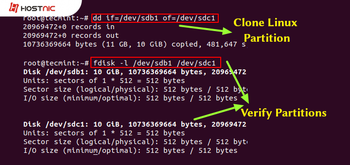 Cara Cloning Partisi Atau Hardisk di OS Linux - Hostnic id