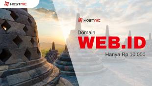 Promo Domain WEB.ID Hanya Rp 10.000